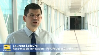 Laurent Lefevre - Responsable innovation PSA PEUGEOT-CITROEN