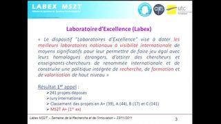 MS2T : un Labex dans la maîtrise des « systèmes de systèmes technologiques »