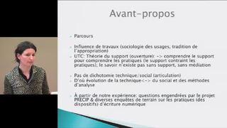 Analyser les pratiques d'écriture numérique, questions théoriques et méthodologiques - Hélène Bourdeloie