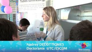 Fête de la science 2011 - Tubes lumineux