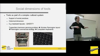 PHITECO 2013 - exploring the social dimension of tools