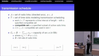 Transmission scheduling in wireless mesh networks