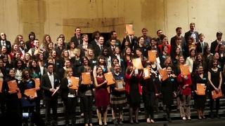 La cérémonie de Remises des diplômes 2014