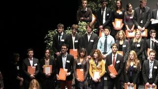 Remise des diplômes 2014 - Génie des Systèmes Urbains