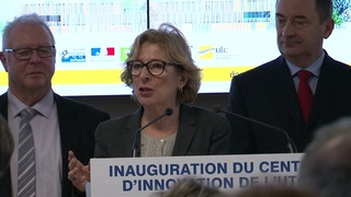 Inauguration du Centre d'Innovation - Geneviève Fioraso