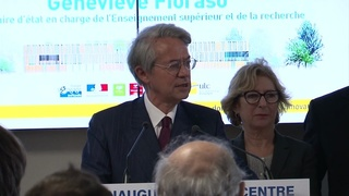 Inauguration du Centre d'Innovation - Philippe Marini