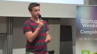 Startup Weekend - Conférence Benoit Blancher