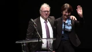 Alain Storck remercie Zohra Cherfi Boulanger