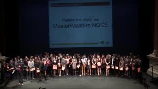 Master/mastère NQCE - Cérémonie de remise des diplômes 2015