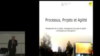 Agile UTC 2015 - La démarche qualité et l'agilité - Jean-Pierre Caliste