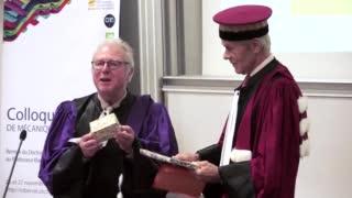 Diplôme de Docteur Honoris Causa pour le Pr Klaus-Jürgen Bathe