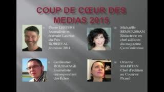 Cérémonie de remise des Prix Roberval - coup de cœur des médias