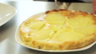 La science en cuisine - une tarte bourdaloue sans gluten et allégée en sucre