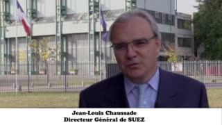 JL Chaussade, Directeur Général de SUEZ, nommé Président du CA de l'UTC