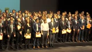 Remise des diplômes Génie Mécanique - Cérémonie de remise des diplômes 2016