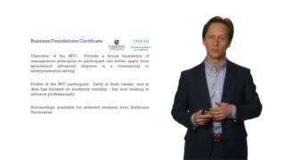 Business Foundations Certificate, INSEAD et Sorbonne Universités
