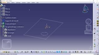 Méthodologie squelette CATIA 02 - Création du squelette