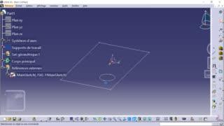 Méthodologie squelette CATIA 04 - Modélisation en contexte