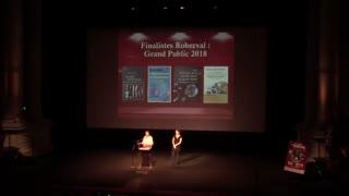 Présentation des Finalistes Roberval Grand Public