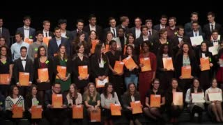 Remise des diplômes 2018 – GP, GB