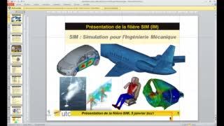 Simulation pour l'ingénierie mécanique (SIM)