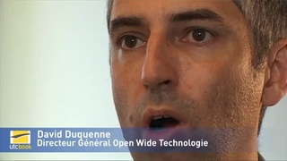 David Duquenne - Directeur Général Open Wide Technologies
