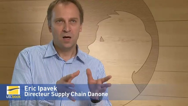 Eric Ipavec - Directeur Supply Chain DANONE