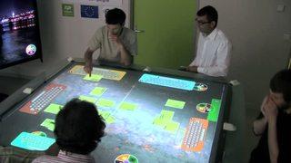 Fête de la science 2012 - Teaser (Table Tactile Interactive - TATIN PIC)