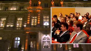 Les créateurs d'entreprises de l'UTC réunis au Palais du Luxembourg