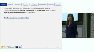 Réplicants : humains virtuels cognitifs, émotionnels et sociaux