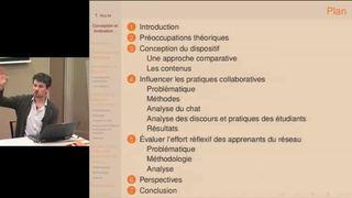 Conception et évaluation d'un dispositif réflexif de formation à la culture numérique - Thibaud Hulin