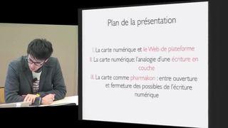L'écriture cartographique en ligne : les possibilités du numérique pour un web post-cyberespace - Jean-Christophe Plantin