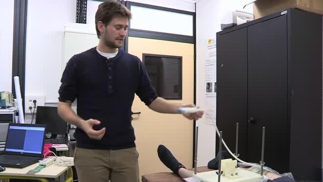 Laboratoire BMBI : méthode pour identifier les propriétes mécaniques du muscle