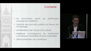 E-Cathédr@le : un programme transversal de recherche au service de la cathédrale d'Amiens