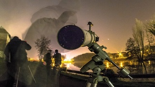 Présentation de l'exposition astrophotographique à l'UTC