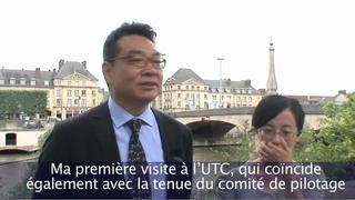 Interview de LUO Hongjie, président de l'université de Shanghai (SHU)