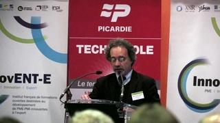 "Conférence territoriale ""InnovENT-E"" - discours de Mr Fliniaux"