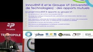 """Conférence territoriale """"InnovENT-E"""" - présentation du projet"""
