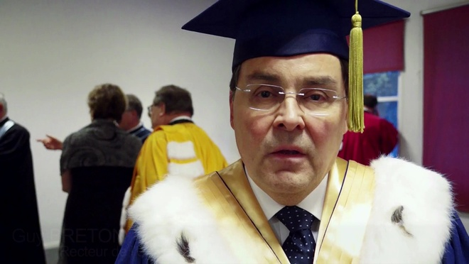 Remise du Doctorat Honoris Causa à Guy Breton