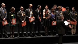 Remise des diplômes 2013 - Master, Mastère Spécialisé, Génie Informatique