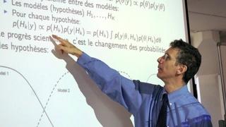La philosophie et l'expérience de la statistique bayésienne