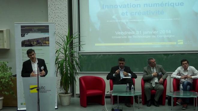 """Séminaire """"innovation numérique et créativité"""" - Interviews"""