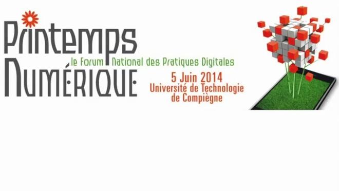 Le Printemps du Numérique - conférences de l'après-midi