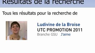 Portrait de diplômé - Ludivine