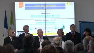 Inauguration du Centre d'Innovation - Alain Storck