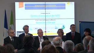 Inauguration du Centre d'Innovation - Alain Storck