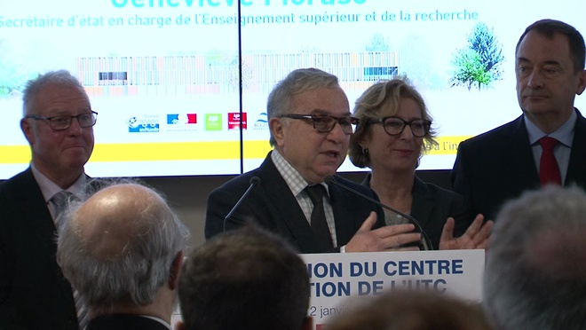 Inauguration du Centre d'Innovation - Claude Gewerc