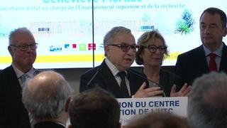 Inauguration du Centre d'Innovation - Claude Gewerc