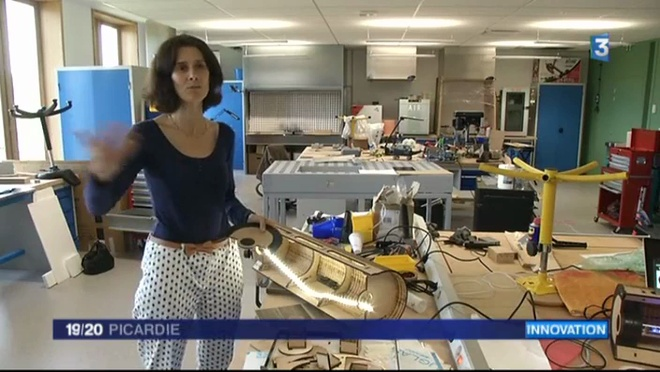 France3 : reportage au Centre d'Innovation