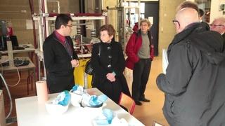 Visite de Madame Nicole Klein, préfète de Picardie